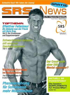 """SRS News"" Magazin Cover"
